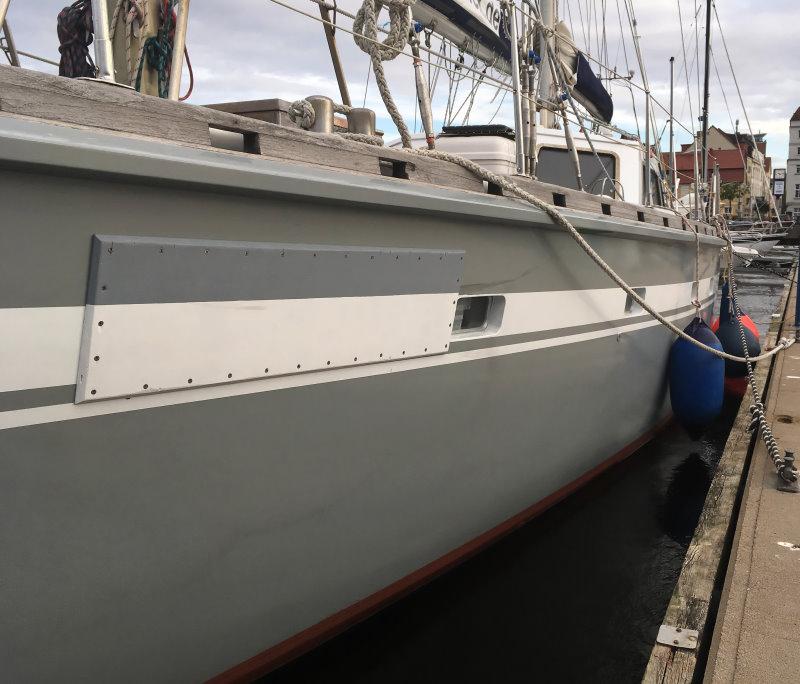 Moby Dick III Reparatur vor Weiterfahrt