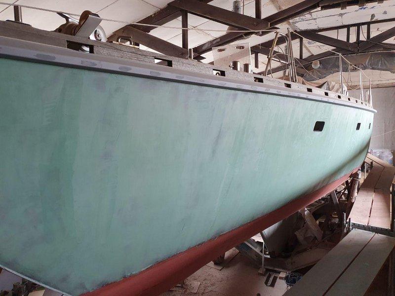 Moby Dick III neues Überwasserschiff