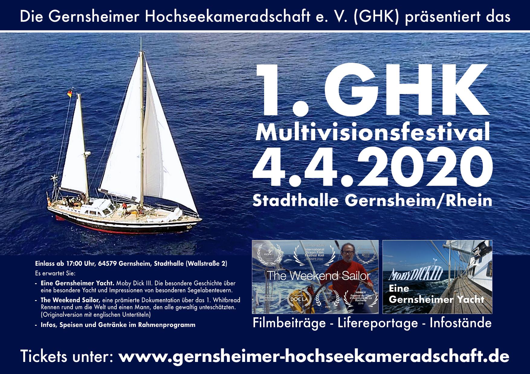 1. GHK Multivisionsfestival